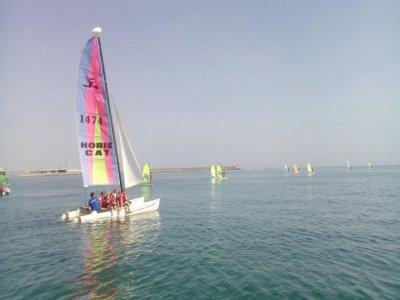 Clases de iniciación en catamarán Gandía 6 horas