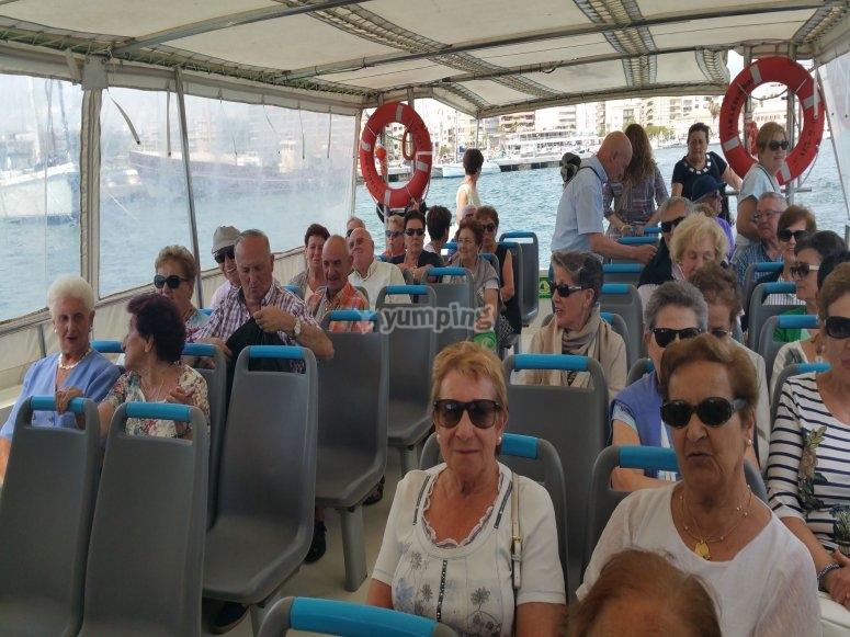 Navegando hacia Tabarca