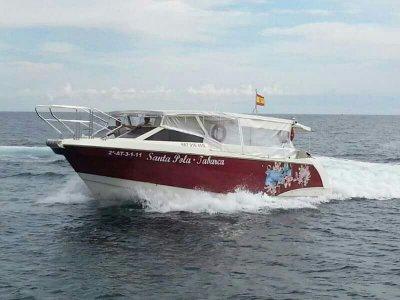 Excursión en barco de Santa Pola a Tabarca adultos
