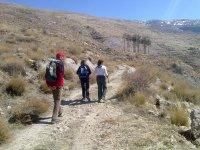 En marcha por la Sierra