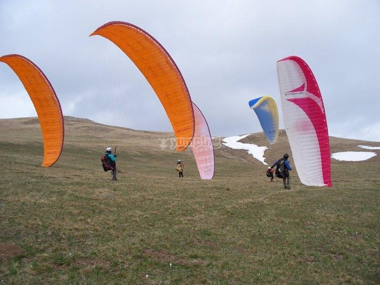 滑翔伞课程