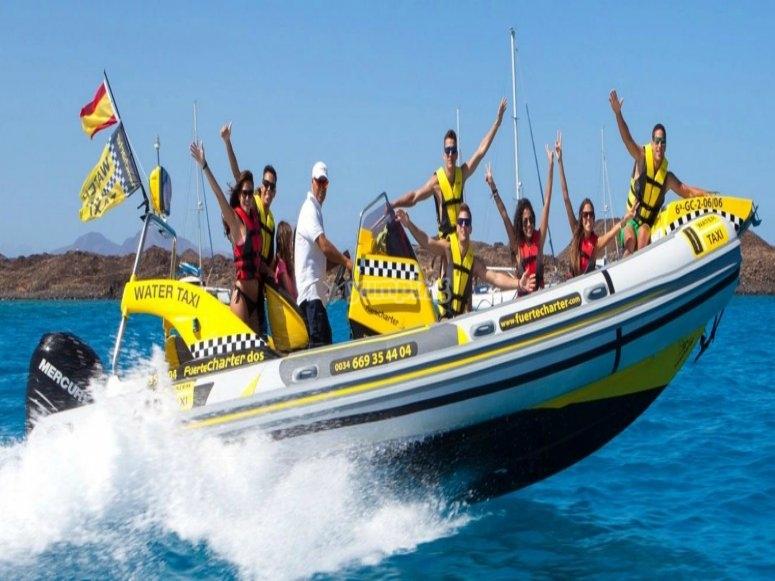 Water taxi en canarias