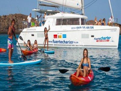 游览Isla de los Lobos Catamaran成人3小时