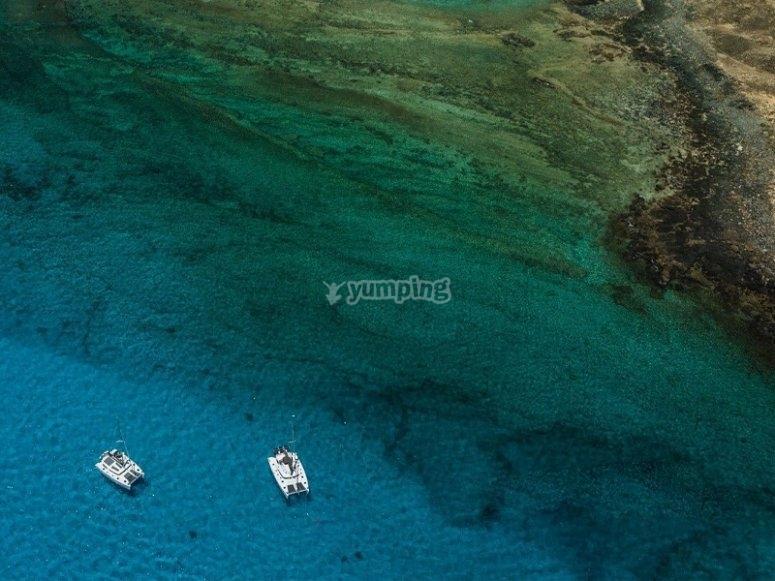 Salida de pesca en la Isla de Lobos