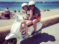 frente a las playas de Ibiza