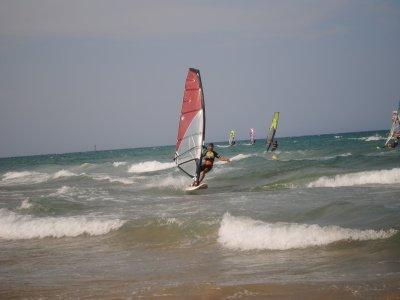 Alquiler de material windsurf en Gandía 1 hora