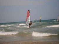Windsurfing material rental Gandia 1 hour