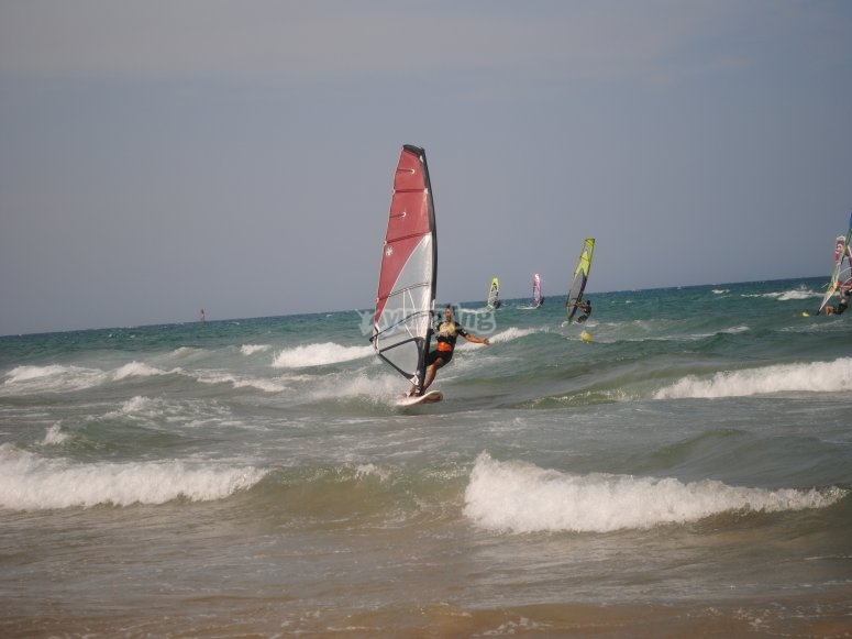高风帆帆板帆板器材
