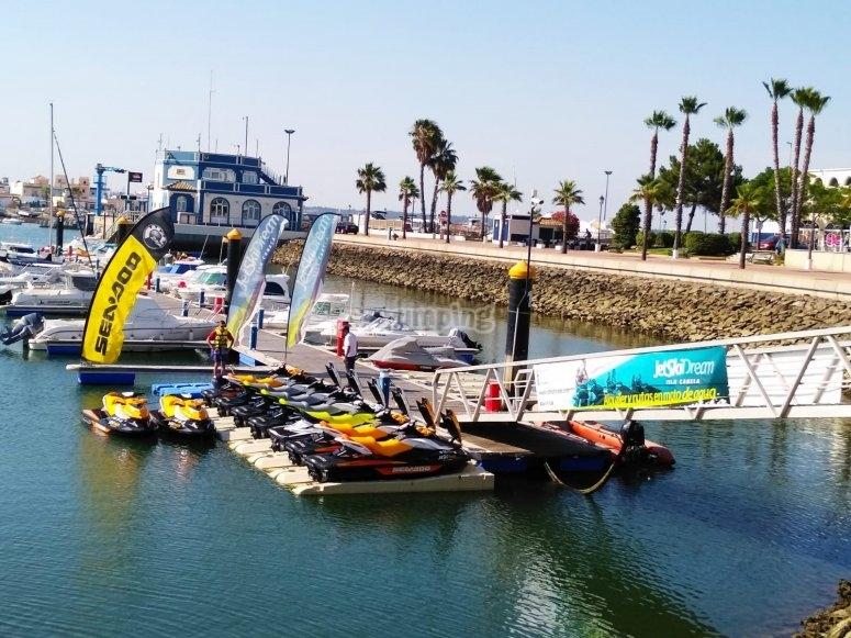 Nueva flota de SeaDoo