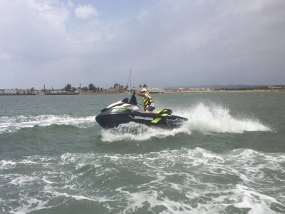 Ruta en jet ski en Isla Canela Huelva 30 minutos