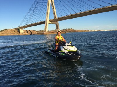 Jet Ski Route in Isla Canela and Guadiana River 2h