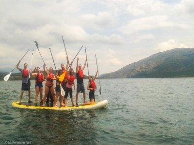 Esperienza in King Paddle Surf a Lozoya