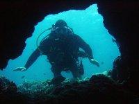 Diver hole