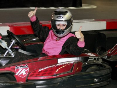 Karting láser y bolos total experience Barcelona