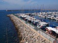 Porto con le barche