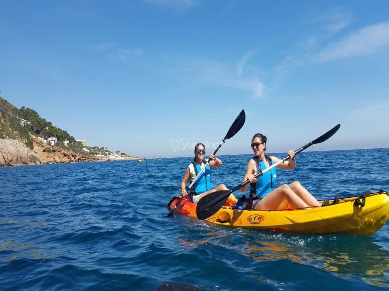 Kayak en Denia
