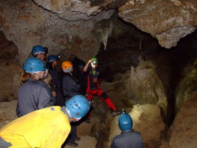 Caving for Adults in Sorbas Caves, Almería
