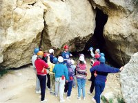 Caving in Caves of Sorbas, for children