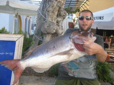 沿海钓鱼8h淡季伊维萨岛