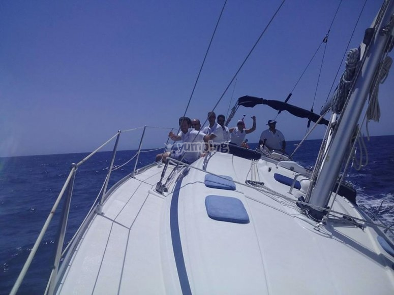 Traversée nautique