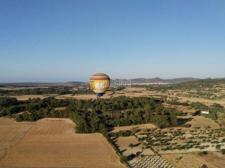 气球在海岛