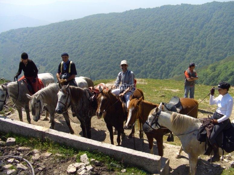 Ruta a caballo en Cantabria