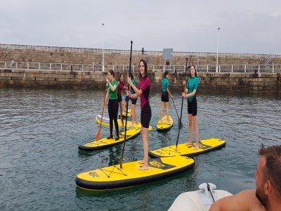 Noleggio di paddle surf a Gijón e muta 1h