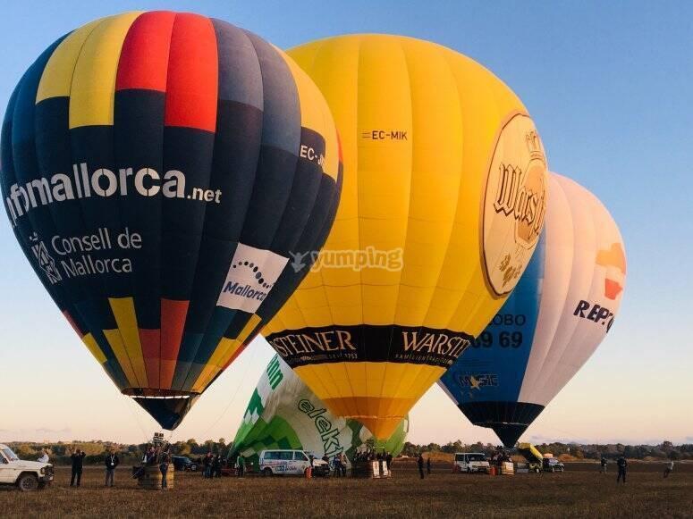 马洛卡热气球