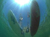 在Somo平静水域2小时划桨冲浪课程