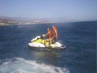 Salida en pareja en moto de agua