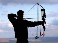 Practica tiro con arco con profesionales