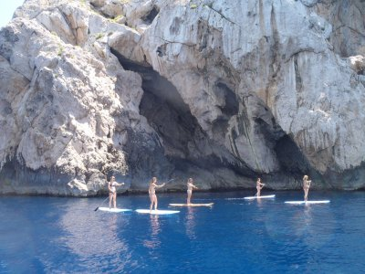 划桨冲浪游览Mouro 2h岛