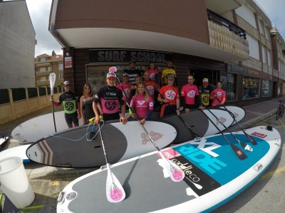 Rent the SUP Equipment for 1h in Somo