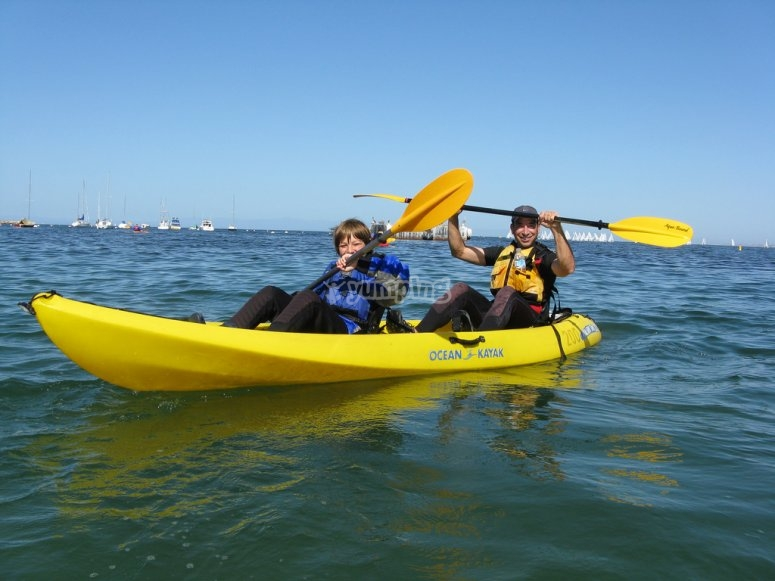 kayak per adulti e bambini