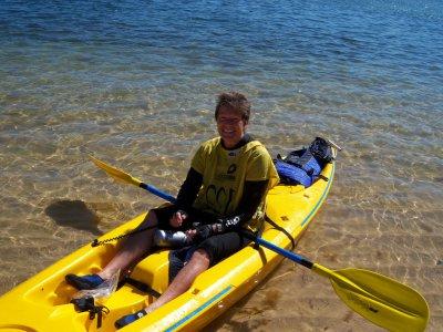Alquiler de kayak 1 plaza 1h Guardamar del Segura