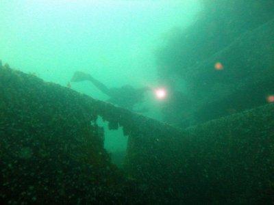 Salida de buceo doble inmersión, Ría de Arousa
