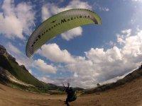 Paragliding baptism in Alarilla + photos & video