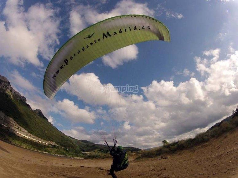 Paragliding in Guadaljara