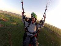 Vuelo acrobático parapente Alarilla fotos y vídeo