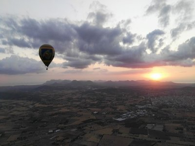Esclusivo giro in mongolfiera attraverso Palma di Maiorca