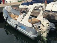 船出租Sacs S680在Santa Pola 4小时