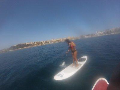 Alquiler material paddle surf 1 hora en Ceuta