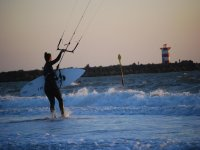 Discovering kitesurf