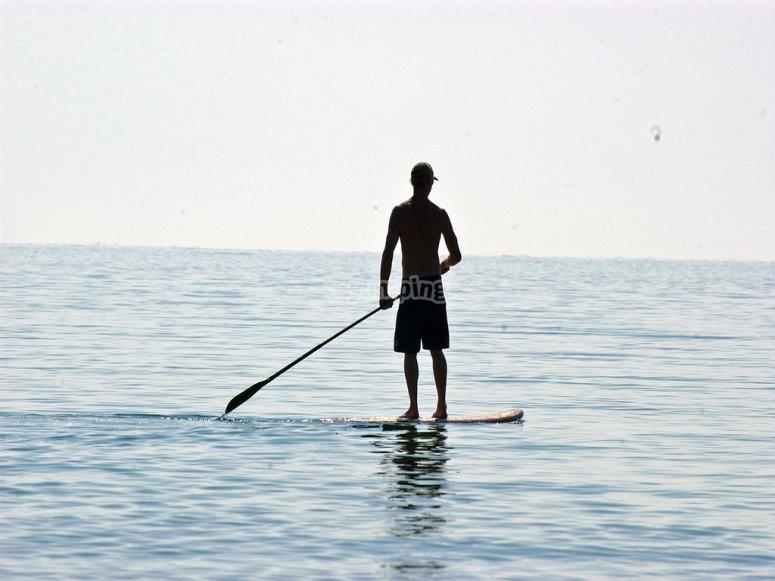 Paseo en paddle surf