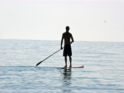 Alquiler material paddle surf Almería 1h