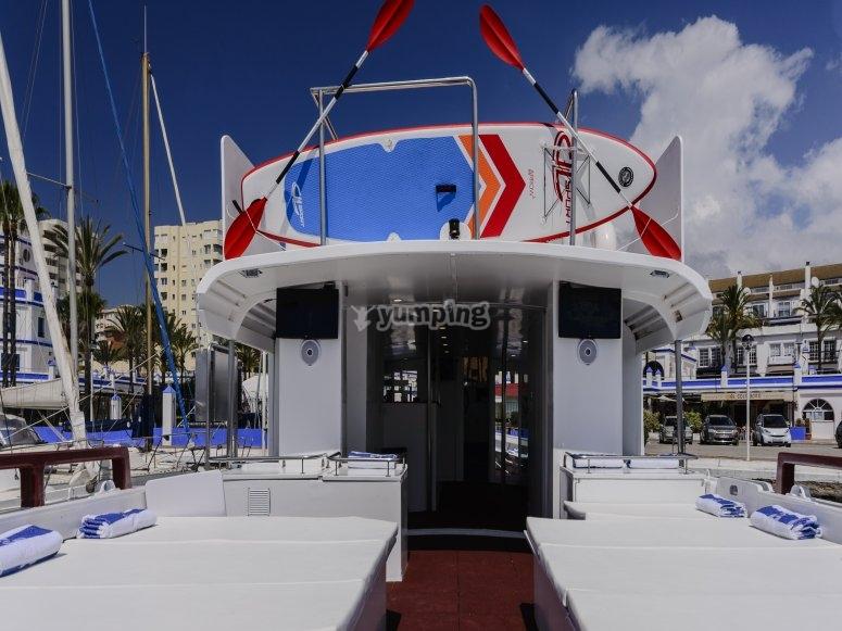 Barco para eventos