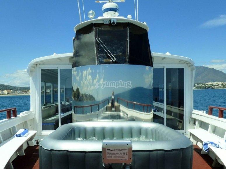 Navegación en barco