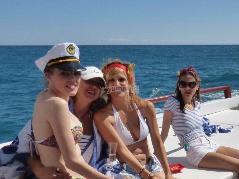 Festa sulla barca