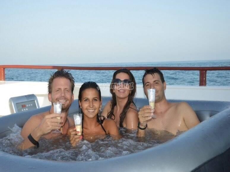 Evento privato in barca