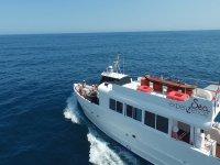 Barco desde el aire
